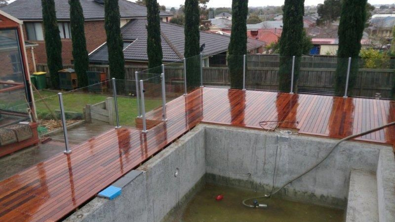 Glass Pool Fencing Melbourne - Semi Frameless Glass Lysterfield