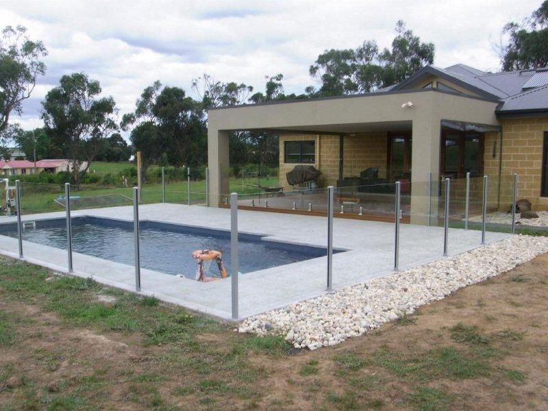 Glass Pool Fencing Melbourne - Semi Frameless Glass ST Kilda