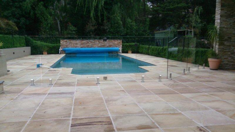 Glass Pool Fencing Melbourne - Frameless Glass In LYSTERFIELD