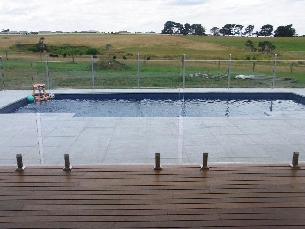 Glass Fencing - Melbourne - Mixed Frameless & Semi