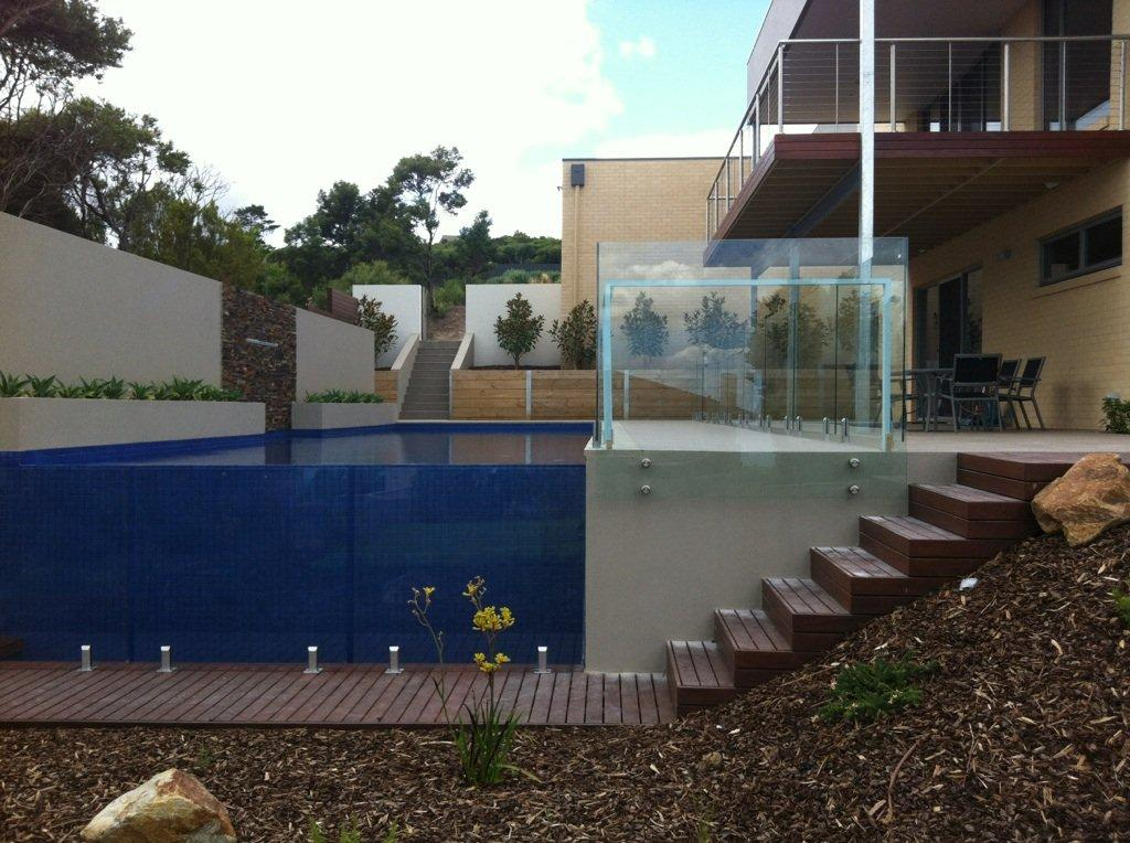 Glass Fencing - Melbourne - Stand Off Panel
