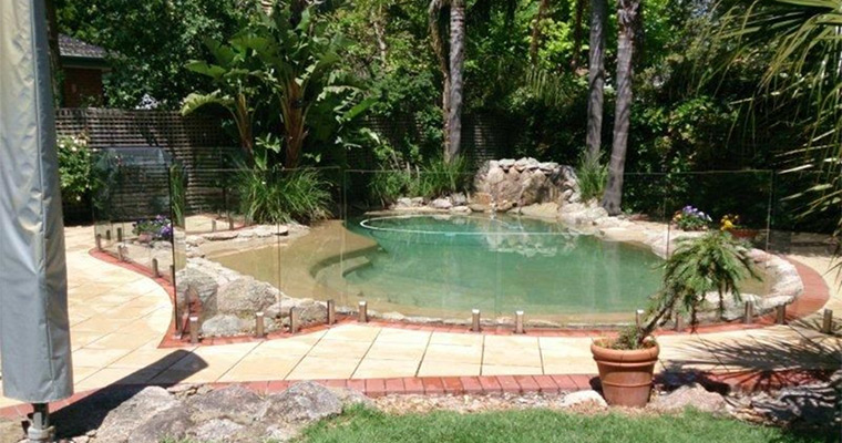 Building a Pool - Consider a Glass Pool Fence
