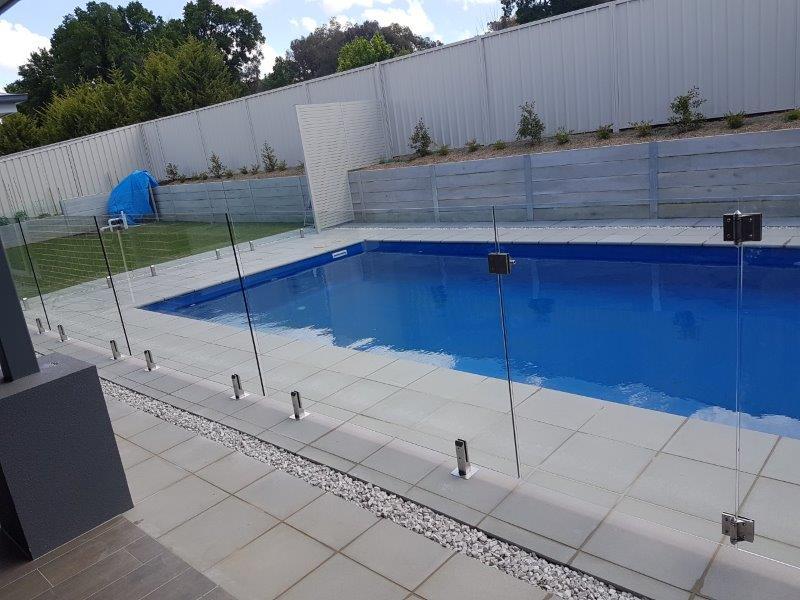 DIY Glass Pool Fencing
