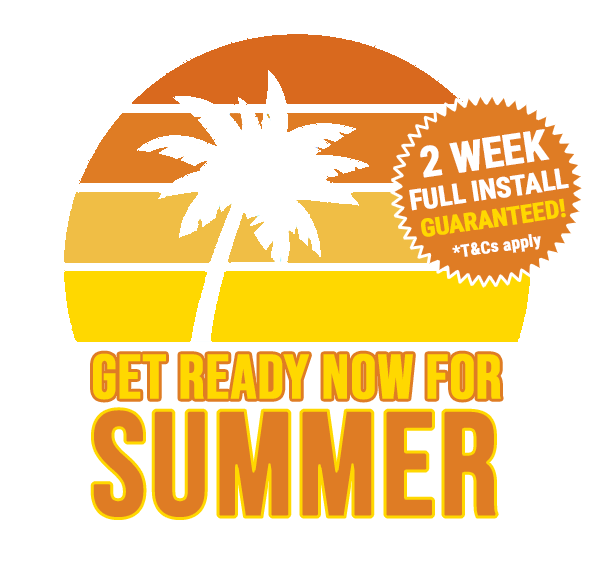 Summer promo full install in two weeks